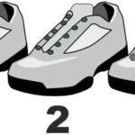 Schuhbänder in drei Schritten austauschen